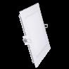 V-Tac 8W LED panel downlight - Hull: 10,5 x 10,5 cm, Mål: 12 x 12 cm, uten driver