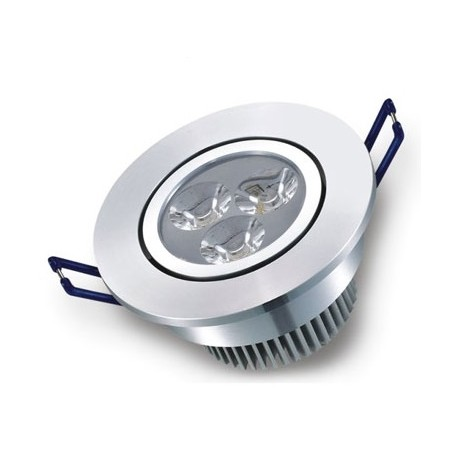 3W downlight - Hull: Ø7-8 cm, Mål: Ø8,4 cm, 24V