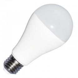 E27 vanlig LED V-Tac 9W LED pære, 3-trinns dimbar - A60, varm hvit, E27