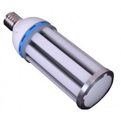 E27 LED LEDlife MEGA36 dimbar - 36W, mattert, varm hvit, IP64 vanntett, E27