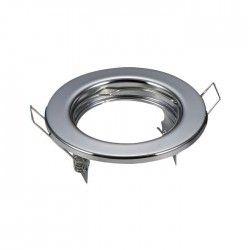 Downlights Downlight kit uten lyskilde - Hull: Ø6,5 cm, Mål: Ø8 cm, krom, velg MR16 eller GU10 fatning