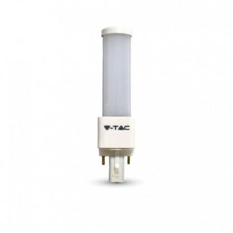 V-Tac G24D LED pære - 6W, 120°, mattert