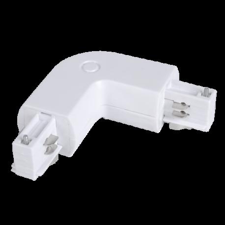 V-Tac L-skjøt for skinner - hvit
