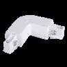 V-Tac skjøtestykke til skinner - hvit, hjørnestykke