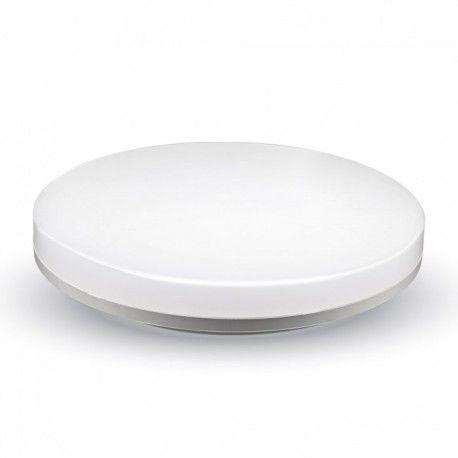 V-Tac rund 15W LED taklampe - IP44, Ø20cm, 230V, inkl. lyskilde