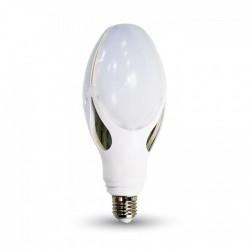 E27 LED V-Tac 40W LED kolbe pære - Kompakt, 22,9 cm, E27