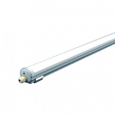 V-Tac vanntett 18W LED komplett armatur - 60 cm, IP65, 230V