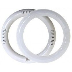 2D kompakt lysrør Cirkel LED rør 18W - Ø30cm, 230V