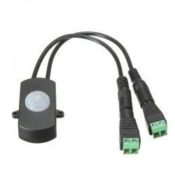 PIR Sensor til LED strip - 12-24V, med skrueklemmer
