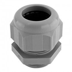 Kabelinnføring til IP65 Armatur - Med gummiring og avlastning, 16mm