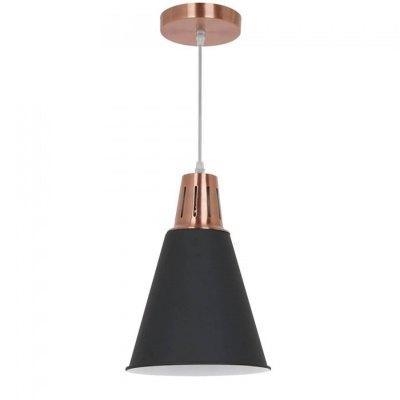 V-Tac V-Tac Moderne pendellampe - kobber + svart sandblåst, Ø22 cm, E27