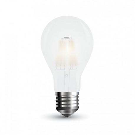 V-Tac 10W LED pære - Karbon filamenter, A67, mattert, E27