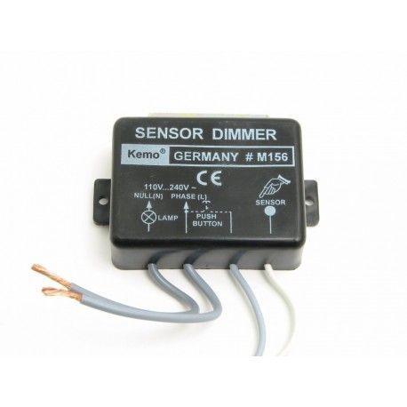 Touch lysdæmper, 1000W -  Kemo, M156