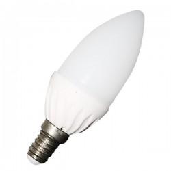V-Tac 3W LED Sterinlys pære - B35, E14