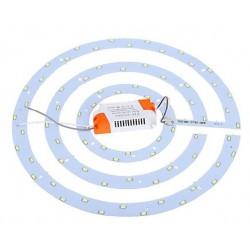 2D kompakt lysrør LED innsats 36W - Ø36 cm, Erstatt sirkulære rør og kompakt rør