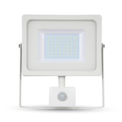 Lyskastere med sensor V-Tac 30W Lyskaster med sensor - Ny modell, Tynn, SMD