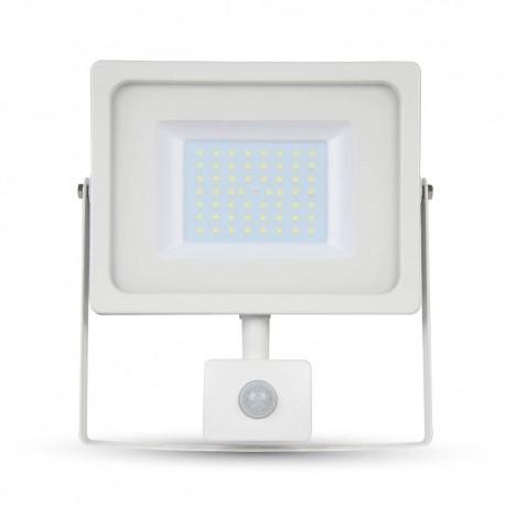V-Tac 30W Lyskaster med sensor - Ny modell, Tynn, SMD