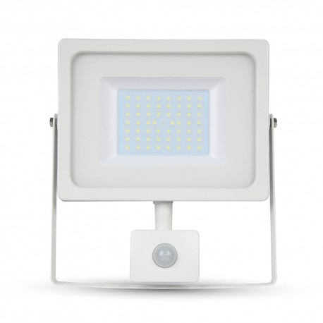 V-Tac 50W Lyskaster med sensor - SMD