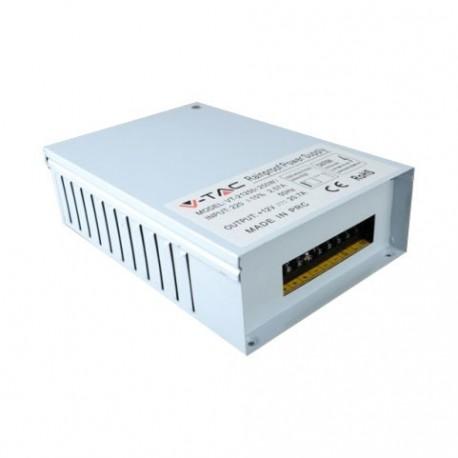 V-Tac 150W regntett strømforsyning - IP45, 12V, 12,5A