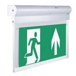Nødlys LED V-Tac vegg/ taklampe LED exit skilt - 2W, 160 lumens