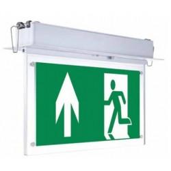 V-Tac taklampe LED Exit skilt - 2W, 120 lumens