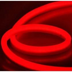 LED Neon Flex 230V - 10m rulle, IP67, med støpsel