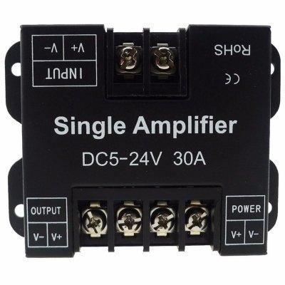 LED Signal forsterker - LED RGB forsterker til 5050 RGB LED SMD Stripe