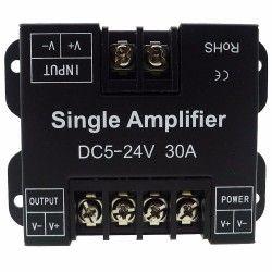 24V Signal forsterker til enkelt farget LED strips