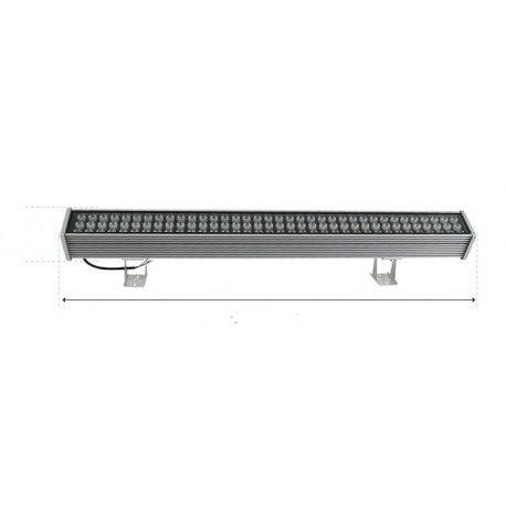 Restsalg: 108W RGB vegglampe - 24V, Fjernkontroll, 100cm