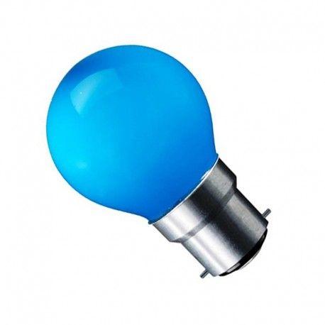 CARNI1.8 - 1,8W LED pære, blå, 230V, B22