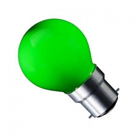 CARNI1.8 LED pære - 1,8W, grønn, 230V, B22