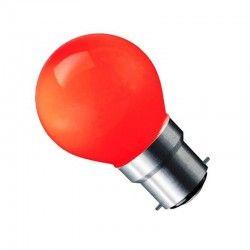 B22 LED CARNI1.8 - 1,8W LED pære, rød, 230V, B22