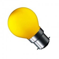 CARNI1.8 - 1,8W LED pære, gul, 230V, B22