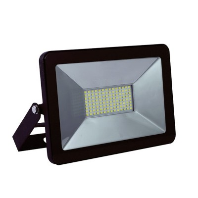 V-Tac V-Tac LED Lyskaster 150W - Tynn model, arbeidslampe, utendørs - Lysfarge : Kald, Dimbar : Nei, Farge på huset : Svart