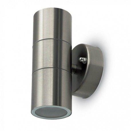 V-Tac vegglampe med opp/ned lys - IP44 utendørs, GU10 fatning, uten lyskilde