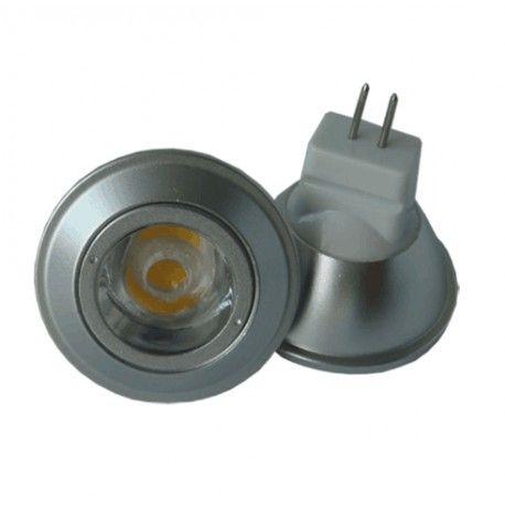 LEDlife SUN3 LED spotpære - 3W, dimbar, 35mm, 12V, MR11 / GU4