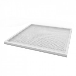 V-Tac LED Panel 60x60 - 36W, 2880 lumen, hvit kant