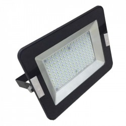 V-Tac 50W LED Lyskaster - Ny modell, tynn, utendørs