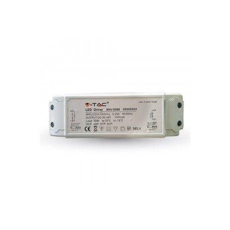 45W driver til LED panel - Flicker free, passer våre 45W / 5400lm LED paneler