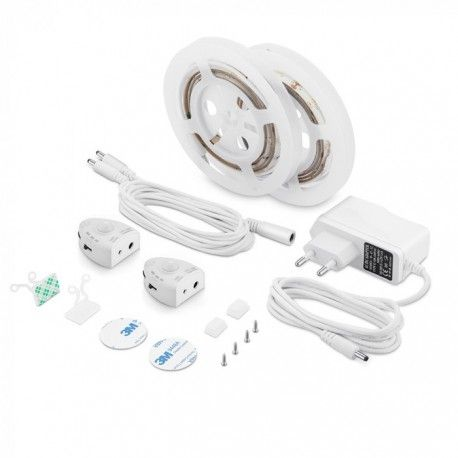 V-Tac LED Bedlight - Senge belysning til dobbeltseng