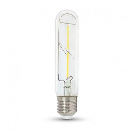 V-Tac 2W LED pære - Karbon filamenter, T30, E27