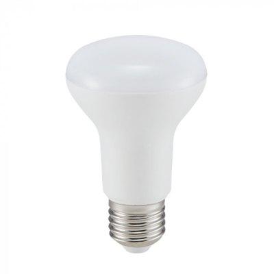 V-Tac 8W LED spotpære - Samsung LED chip, R63, E27, Kulør: Varm, Dimbar: Ikke dimbar