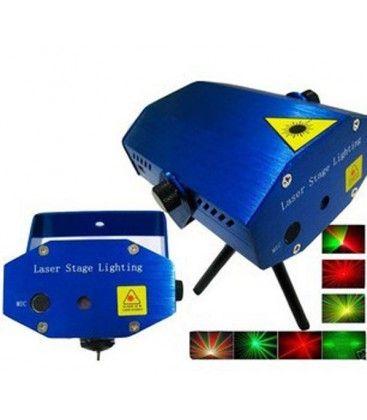 Disco laser - Rød og grønn