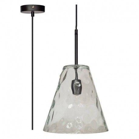V-Tac moderne pendellampe - Glass, Ø27 cm, E27