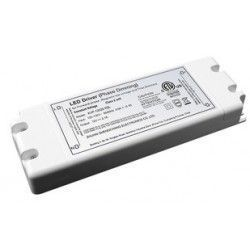 Tilbehør 50W dimbar strømforsyning - 12V DC, 3,75A, IP20 innendørs