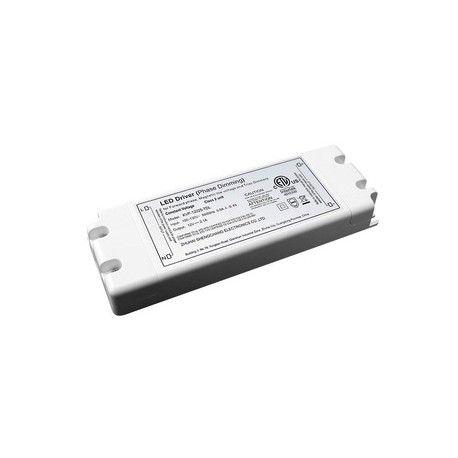 50W dimbar strømforsyning - 12V DC, 4,1A, IP20 innendørs