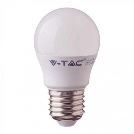 V-Tac 5.5W LED pære - Samsung LED chip, G45, E27