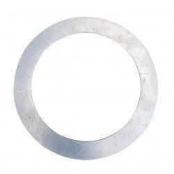 Innendørs downlights Forstørrelsesring - Hull: Ø7,7 cm, Mål: 12,5 cm, rustfri stål