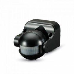 Vegglamper V-Tac bevegelsessensor - LED vennlig, svart, PIR infrarød, IP44 utendørs