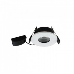 LED downlights V-Tac 7W LED downlight - Hull: Ø7,2 cm, Mål: Ø8,5 cm, dimbar, 230V
